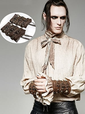 Men's Gothic Steampunk Rock Sleeves by Punk Rave