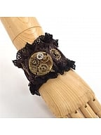 Steampunk Lolita Vintage Gear Bracelet by Qian Chen Accessories