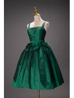 Vintage Green Lolita Prom Dress by Queen Devil