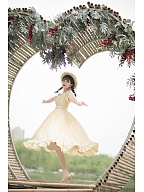 Girl Next Door Collection Cotton Vintage Lolita Dress Custom Size Available by Queen Devil