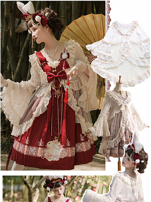 Mochizuki Elegant Lolita Outwear by Red Maria