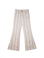 Striped Print Flared Pants by STRIKE A POSE