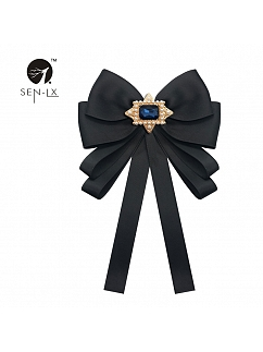 Big Bow Double-layer Bow Tie by SENLX