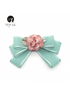 Camellia Bow Tie Brooch by SENLX