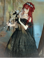 Streamer Back Years Lolita Dress Matching Necklace by Sweety Honey