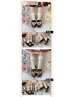 Sister Sniper Round Head Winter Lolita Shoes by Sheep Puff