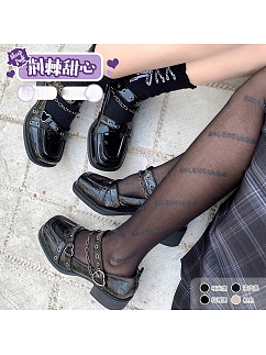 Berry Q X Sheep Puff Collaboration Thorny Sweetheart Hot Girl Cool Lolita Shoes by Sheep Puff
