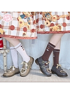 Sniper Sweethear Lolita Platforms Round Toes Shoes by Sheep Puff