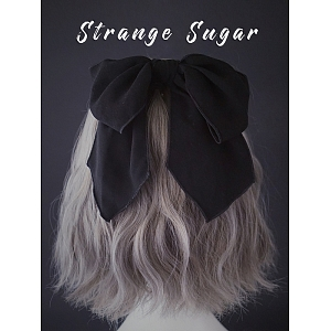 Black Knot Hair Tie by Strange Sugar