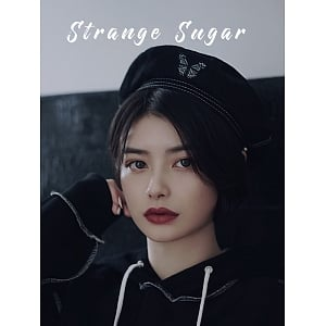 Black Denim Beret by Strange Sugar