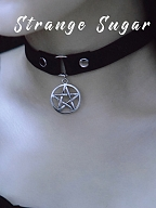 Five-pointed Star Hollowed-out Choker by Strange Sugar
