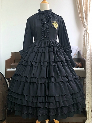 Redeemer Cool Military Lolita Under Garment Lolita OP by Summer and the Milky Way