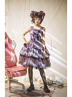 Idol Star 2.0 Retro Party Lolita Plaid Dress JSK by SweetSweetie