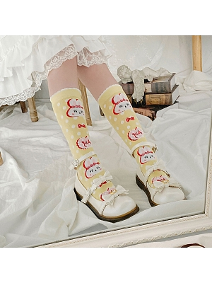 Bunny Lolita Stockings by Stellar Winds of the Universe