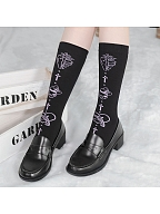 Killer Lolita Knitted Stockings by Stellar Winds of the Universe