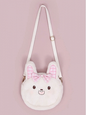 Rabbit House Matching 3 Ways Plush Bag by To Alice