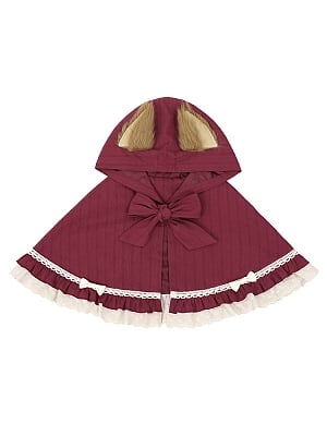 Little Red Riding Hood Lolita Set Cape by To Alice