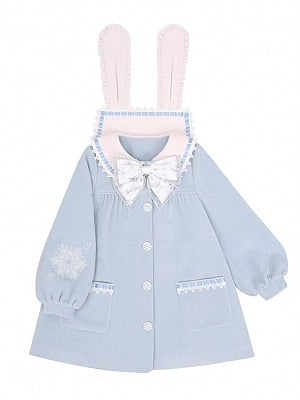 Snow Bunny Lolita Coat by To Alice