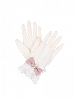 The Jade Hare Wa Lolita Gloves / Hat by To Alice