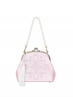 The Jade Hare Wa Lolita Elegant Crossbody Tote Bag by To Alice