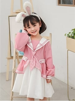 Corky & Bunny Sweet Lolita Dress OP for Kids by To Alice