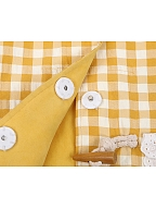 Picnic Duck Reversible Vest / White Shirt by To Alice