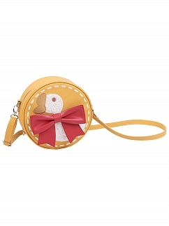 Lucky Goose Kindergarten Round Crossbody Bag by To Alice