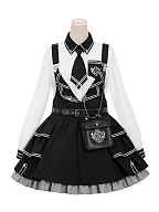 Ordnance Girl Military Lolita Overall Dress I Set by To Alice