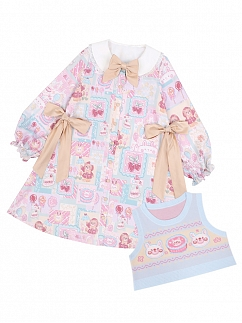 Decals of Love Sweet Lolita Dress OP / Vest by To Alice