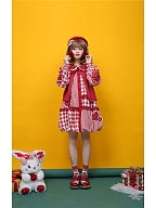 Bubble Cherry Sweet Lolita Dress OP / Vest by To Alice