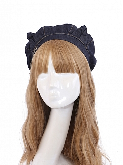 Pussycat Doll Sailor Collar Backless Dress Matching Hat by To Alice