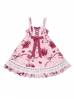 Big Apple Series Empire Waist Lolita Dress JSK II by To Alice