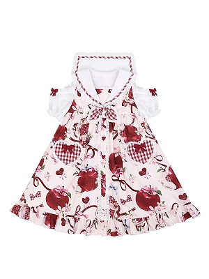 Big Apple Series Open Shoulder Lolita Dress OP by To Alice