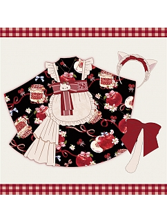 Big Apple Series Yukata Kimono Lolita Dress for Kids by To Alice