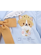 Sweet Corgi Sailor Collar Lolita Dress for Kids by To Alice
