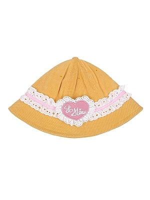 Sweet Summer Orange Lolita Corduroy Hat by To Alice