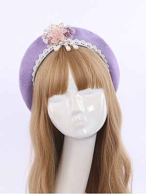 Jacaranda Han Lolita Beret by To Alice