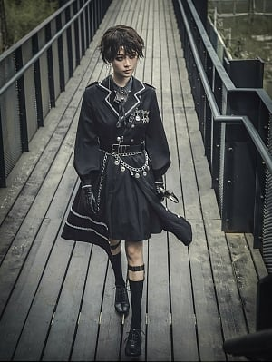 Guardian Military Style Lolita Dress by To Create