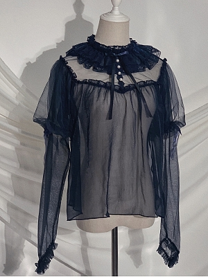 Butterfly Elegant Lolita Blouse by Tonight