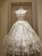 Miss Death Elegant Lolita White Underskirt by This Time
