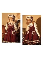 Little Bear Classic Lolita Dress JSK by Honey Machine