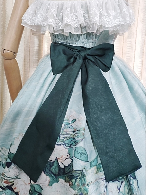 Roses Elegant Lolita Dress Matching Waistbelt by Unnamed Sale