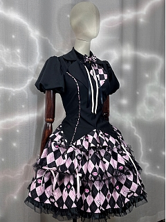 Night II  Lolita Dress JSK Matching Shirt by UTC+8 MUSEUM