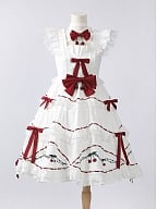 Acerola Cherry White Lolita Dress JSK by Violet A Lolita