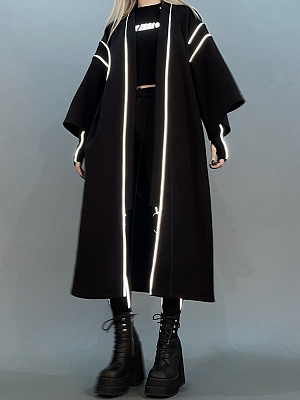 Cyberpunk Reflective Long Outwear by Violent Groceries