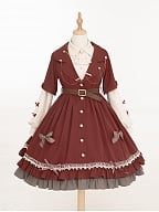 Little Red Riding Hood Lolita Dress OP by Warbler in March
