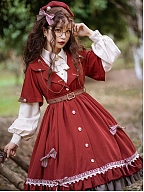 Little Red Riding Hood Lolita Shirt by Warbler in March