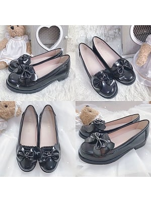 Caramel Cookies Lolita JK Loafers Shoes by Witch's Night Lolita