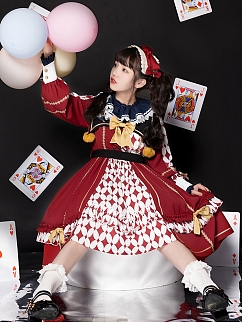 Fireworks Paradise Jocker Inspired Lolita Dress OP by With PUJI