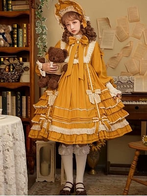 Doll No.9 Sweet Lolita Dress OP by C C Cat